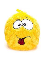 <b>Мяч надувной</b> Пушистик 40см, полиэстер, резина, 40х40см, 2 ...