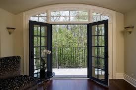 Retractabe Door Screens on Living Room French Doors traditional-living-room
