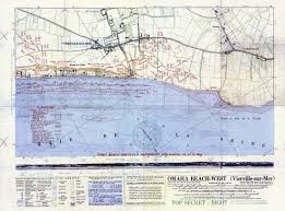 D Day Maps Perry Castañeda Map Collection Historical