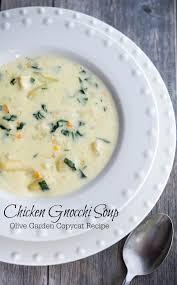 Olive Garden Kitchen Olive Garden Chicken Gnocchi Soup Copycat Carries