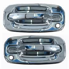 silverado chrome door handle front