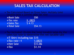 Ppt Sales Tax Collection And Remittance Workshop
