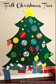 Children's Felt Christmas Tree