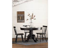 quaint dinner get togethers around our traditional gatherings round pedestal table will be warm and inviting pleasantly designed finished in distressed