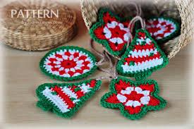 Crochet Christmas Ornaments Patterns Mesmerizing Crochet Christmas Ornaments Pattern No 48 Zoom Yummy Crochet