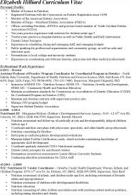 registered dietitian resume contegri clinical dietitian resume - Clinical Dietitian  Resume