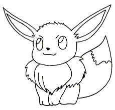 Small Picture Pokemon Coloring Pages Eevee Image Gallery HCPR