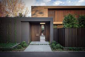 Steel railing gate designs for homes simple design house creative ideas amazing home part3 pictures modern small decor iron gate design ideas main gate of iron design. 40 Modern Entrances Designed To Impress Architecture Beast