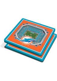 Miami Dolphins Seating Chart 2017 Miami Dolphins 3d Stadium View Coaster 6860442