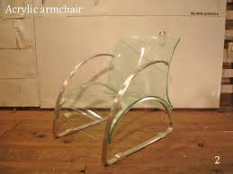 to an acrylic armchair 1p 2 acrylic arm chair 2seats space eiji design bench sofa chair chair transparence chestnut ad re ade plastic furniture