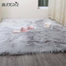 caramel white faux sheepskin rug long fur blanket decorative inside designs 12