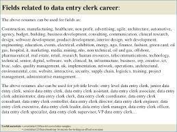 Data Entry Clerk Resume Igniteresumes Com
