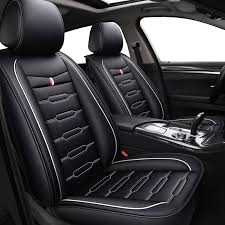 pu leather cartoon auto seat covers for