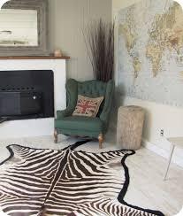 zebra skin rug roselawnlutheran awesome zebra skin rug uk