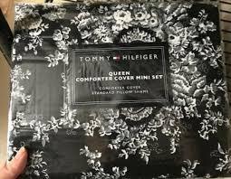 tommy hilfiger vintage plaid twin duvet