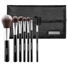 sephora luxe anti bacterial brush set makeup brush set collections