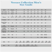 Imp Originals Size Chart 36 True Versace Jeans Size Chart