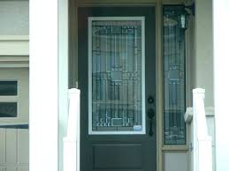 front door glass replacement cost entry inserts suppliers decorative