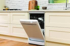 Slimline Kitchen Appliances Hotpoint Dish Washers Slimline 10 Place Set A Knob Amazoncouk