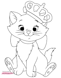 Disney Aristocats Marie Coloring Pages Coloring Pages Disney