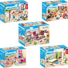 Playmobil City Life 5er Set 9267 9268 9269 9270 9271 Wohnzimmer