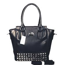 Black · Coach Legacy Tanner In Studded Small Black Crossbody Bags ...