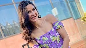 Katrina Kaif donned a lavender corset ...