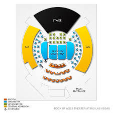 Rock Of Ages Theater Seating Chart 58 Actual Rio Theatre Seating Chart