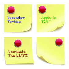 Law School Admissions And Lsat Prep Timeline For December Lsat