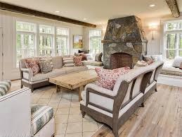 reclaimed russian oak plank coffee table