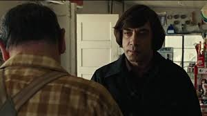 miramax no country for old men coin toss
