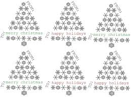 Free Printable Black And White Christmas Labels Festival Collections