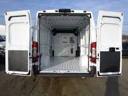 Dodge Ram Promaster 3500 Cargo Van High Roof Extended Length Fedex Trucks For Sale Cargo Van Trucks For Sale Van Racking