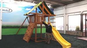 eastern jungle gym s dream wooden playset