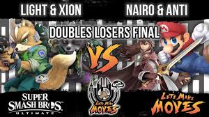 Nairo Vs Light Light Xion Vs Nairo Anti Lets Make Moves Ultimate Doubles Losers Final