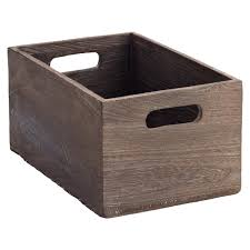 small storage bins. Fine Storage XSmall Feathergrain Wood Bin Inside Small Storage Bins L