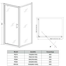 shower door width standard shower screen door size exterior doors and screen doors pertaining to classy