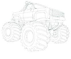 Free Grave Digger Coloring Pages Free Monster Truck Coloring Sheets