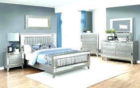 Bedroom Sets ~ Mirrored Headboard Bedroom Set Mirror Sets Gray ...