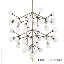 mara grande chandelier by tech lighting