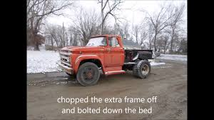 All Chevy chevy c60 : 1962 Chevy C60 Grain Truck to Pickup Conversion - YouTube