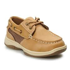 Kohls Shoe Size Chart Jumping Beans Traditional Toddler Boys Boat Shoes Boys
