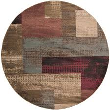 surya riley round indoor area rug common actual 8 ft dia