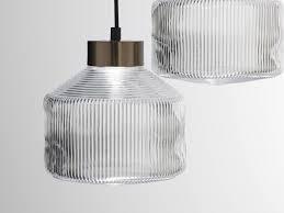 pharos pendant lamp clear glass
