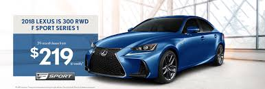 2018 Lexus IS F Sport : Lease From $219 Bi-weekly 2018-04-09