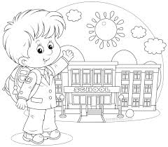 unusual first day school coloring pages for kindergarten page book cool back to color sheets 21