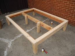 assorted plans pdf free platform bed frame diy build wood