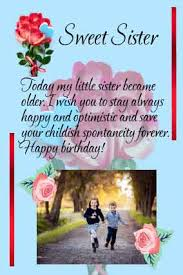 An Emotional Personalized Birthday Letter For Sister With Birthday