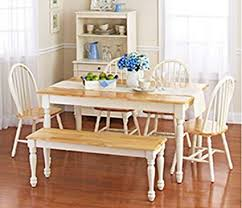 country style dining room furniture. White Dining Room Set With Bench. This Country Style Table And Chairs For Furniture N