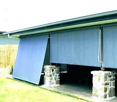 exterior bamboo shades shade outdoor roll up blinds patio outside vinyl custom